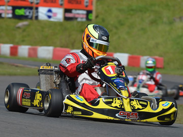 James Singleton - kart racing engines