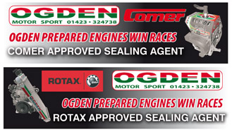Rotax kart racing engines